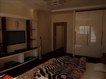 flat(4 room)bonus-corridorhall 3d model max 82454