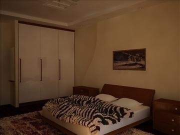 flat(4 room)bonus-corridorhall 3d model max 82455