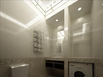 flat(4 room)bonus-corridorhall 3d model max 82456