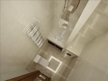 flat(4 room)bonus-corridorhall 3d model max 82457