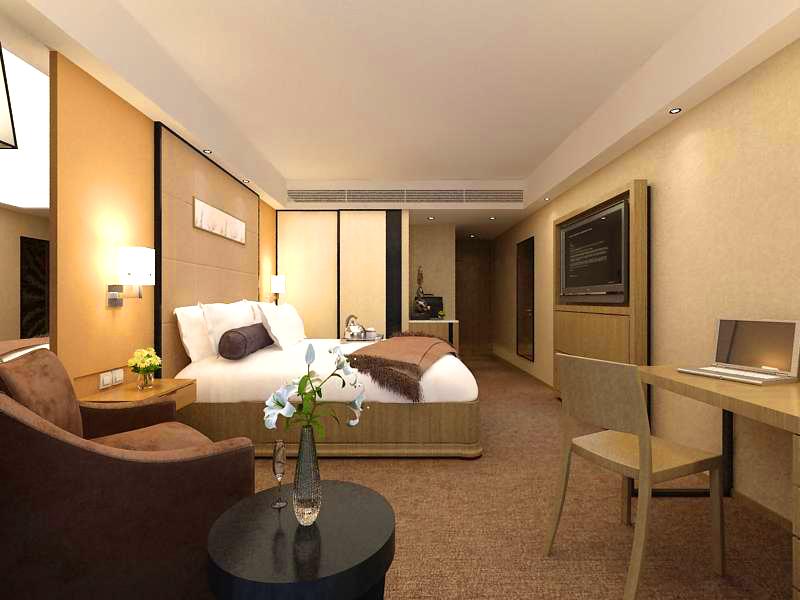 guest room 001 3d model 136394