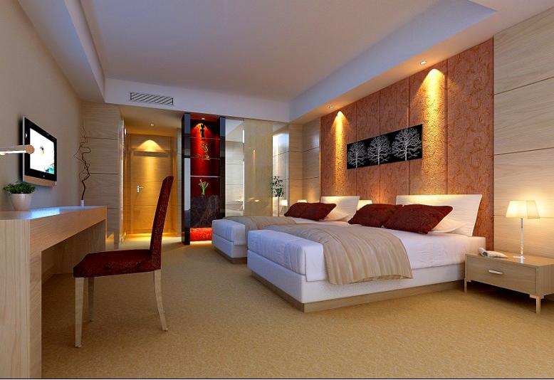 guest room 003 3d model max 136398