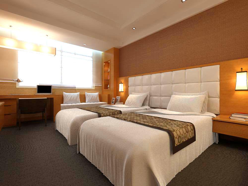 guest room 006 3d model max 136404