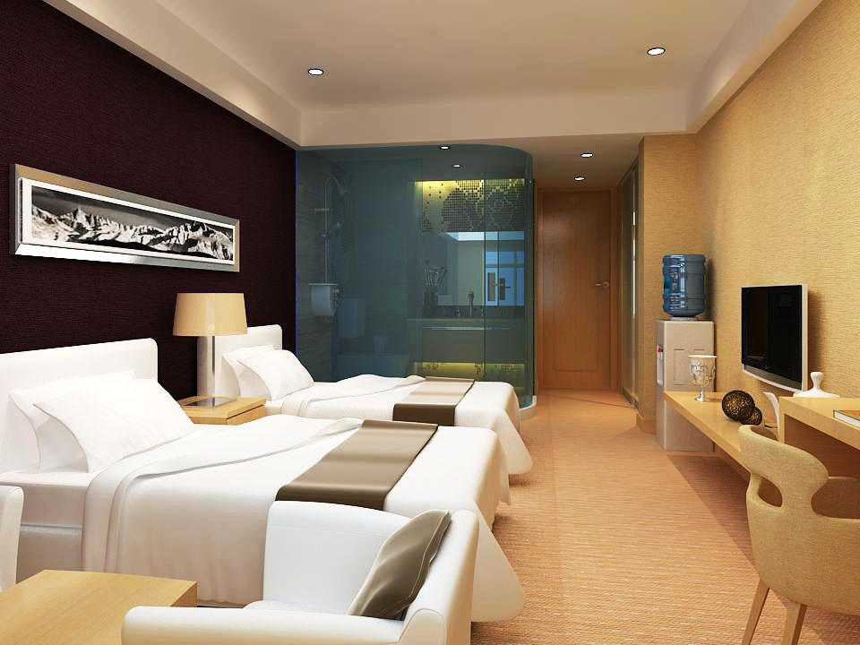 guest room 007 3d model max 136406