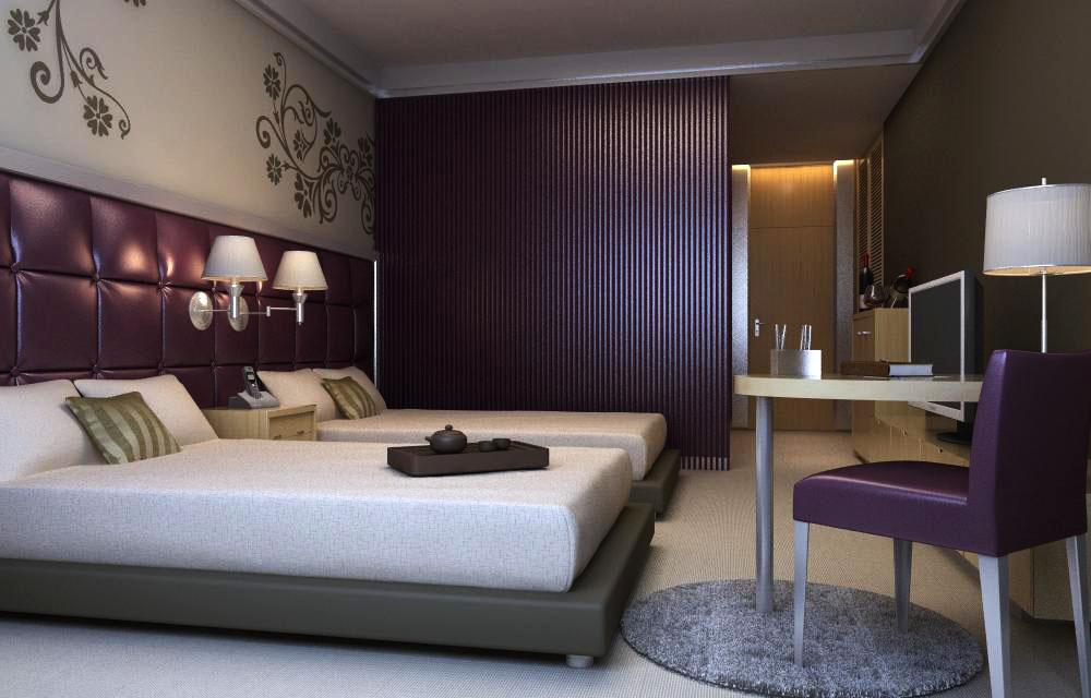 guest room 008 3d model max 136408