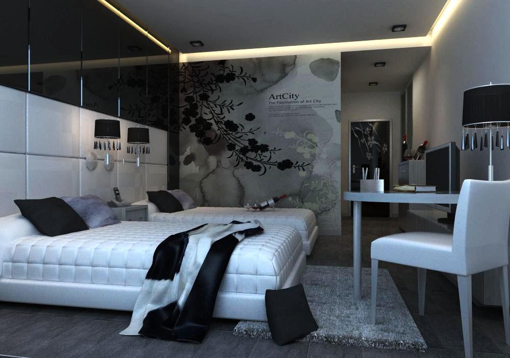 guest room 009 3d model max 136410