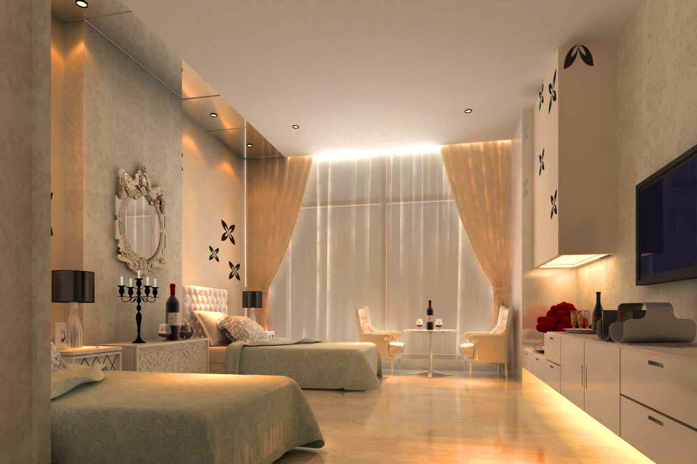 guest room 009 3d model max 140357