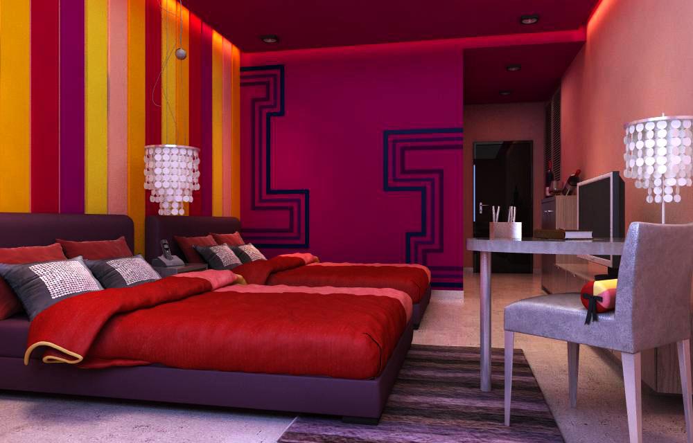 guest room 011 3d model max 136430