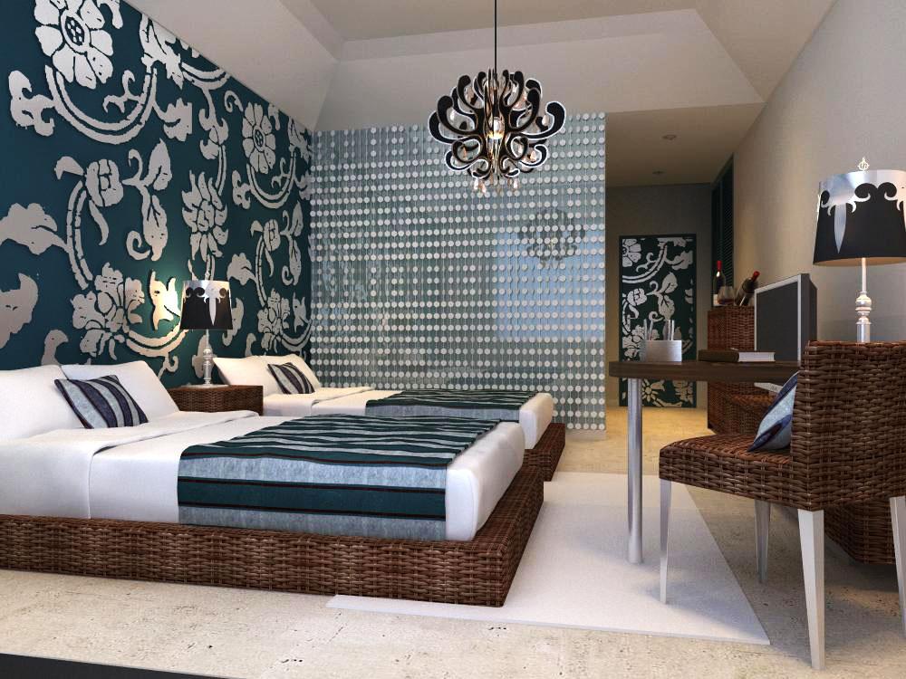 guest room 012 3d model max 136414