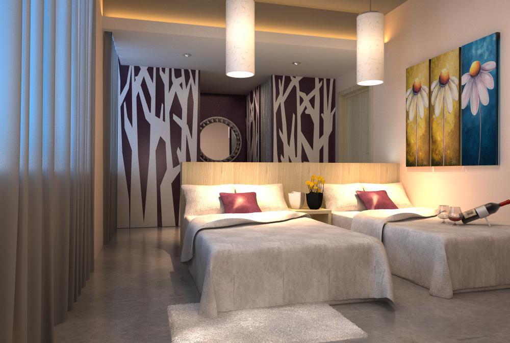 guest room 013 3d model max 136416