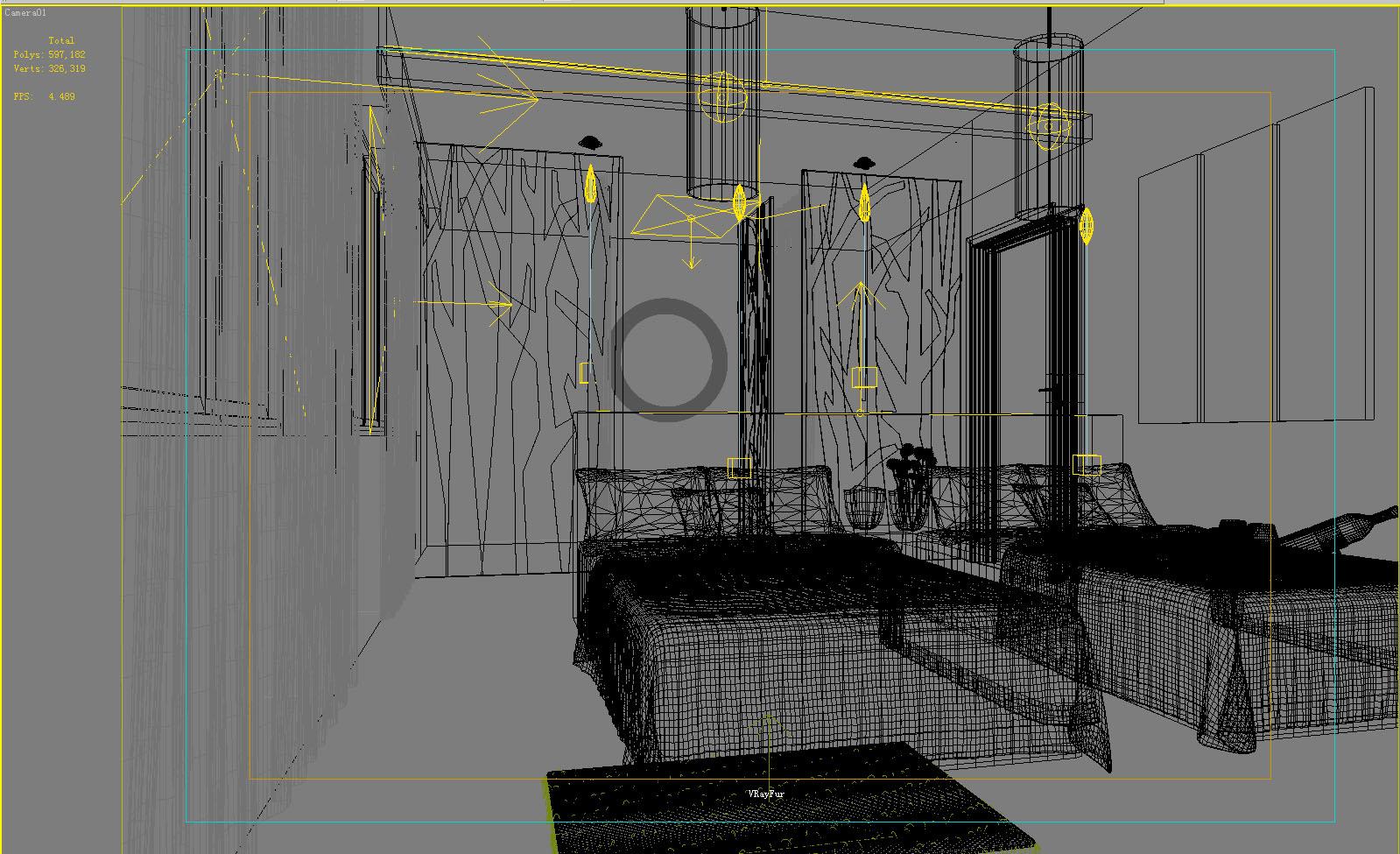 guest room 013 3d model max 136417