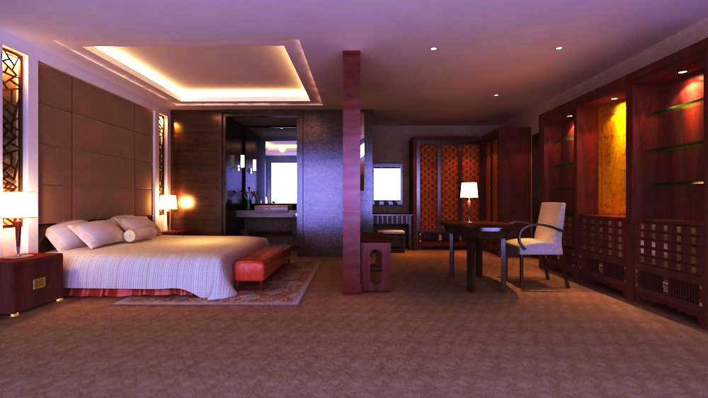 guest room 013 3d model max 140365