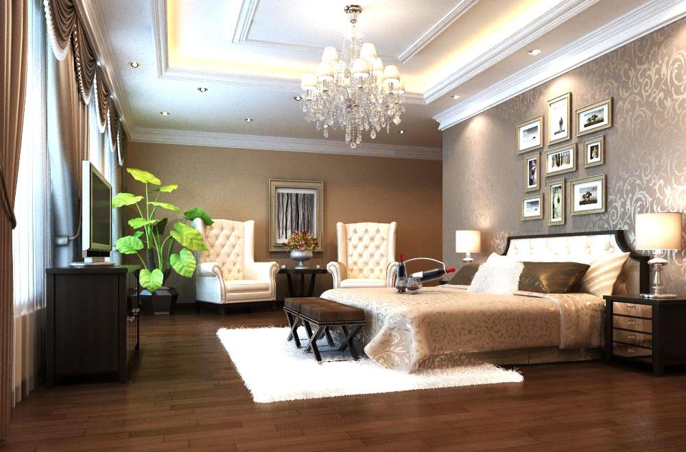guest room 016 3d model max 136422