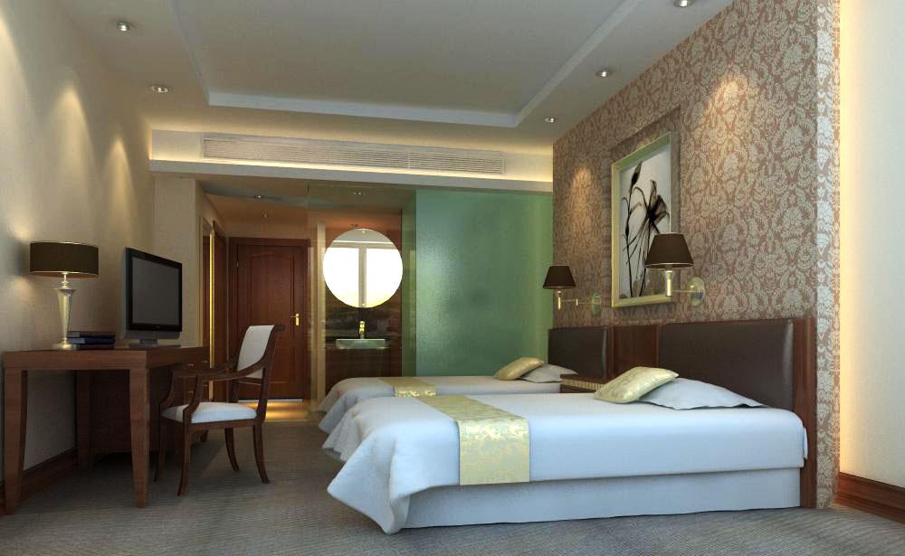guest room 017 3d model max 136424
