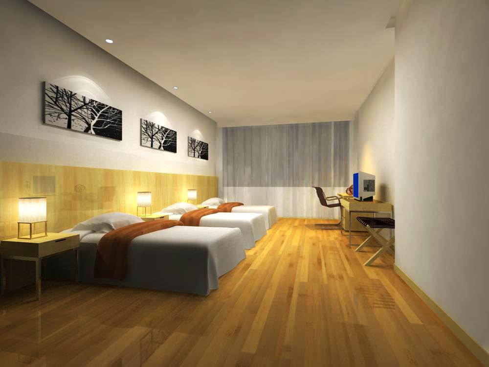 guest room 019 3d model max 140377