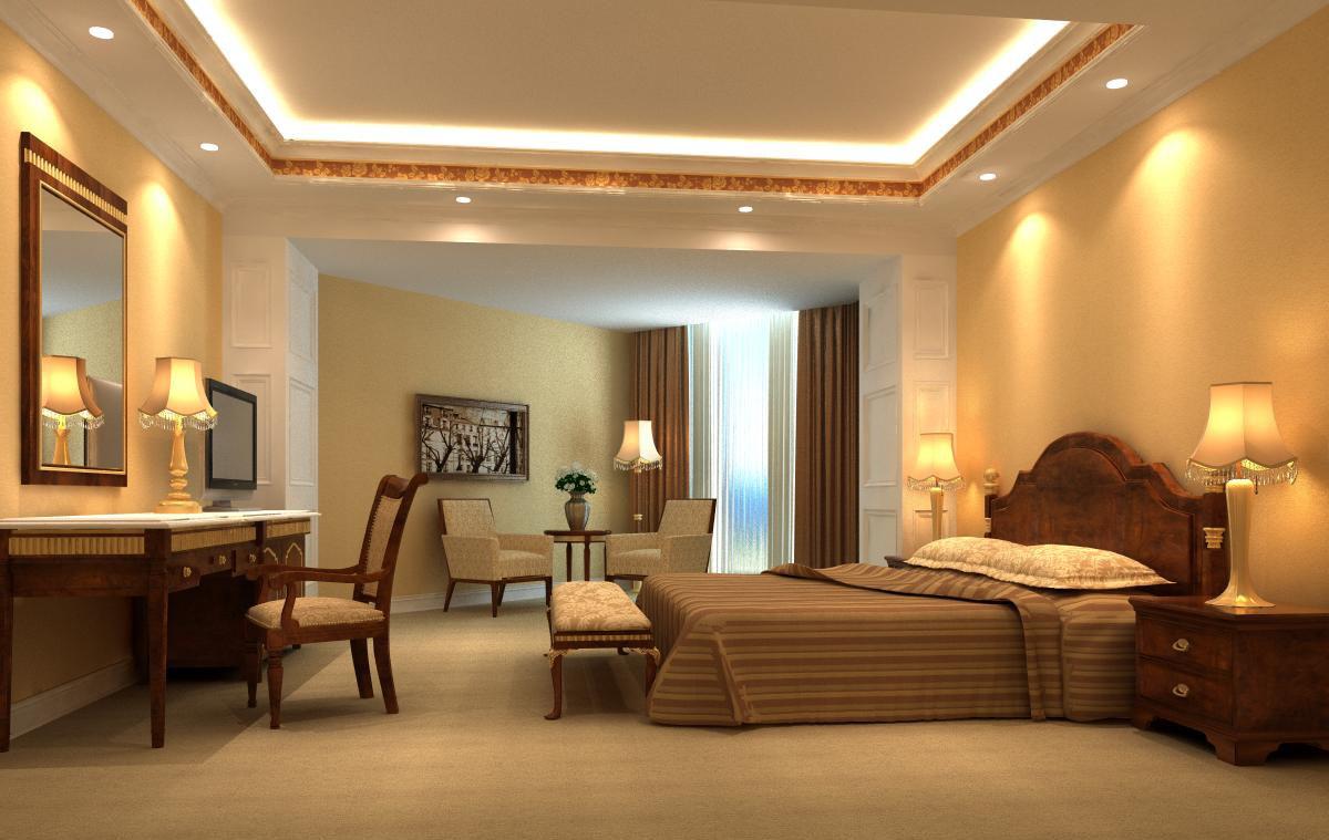 guest room 021 3d model max 136428