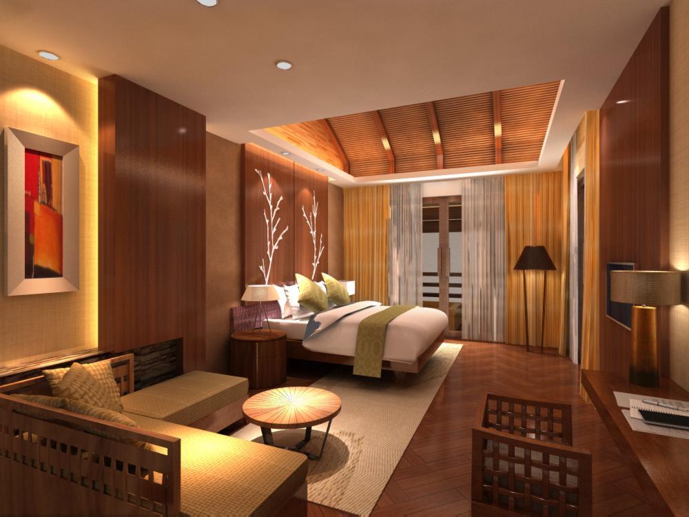 guest room 023 3d model max 136434