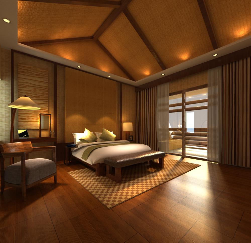 guest room 024 3d model max 136436