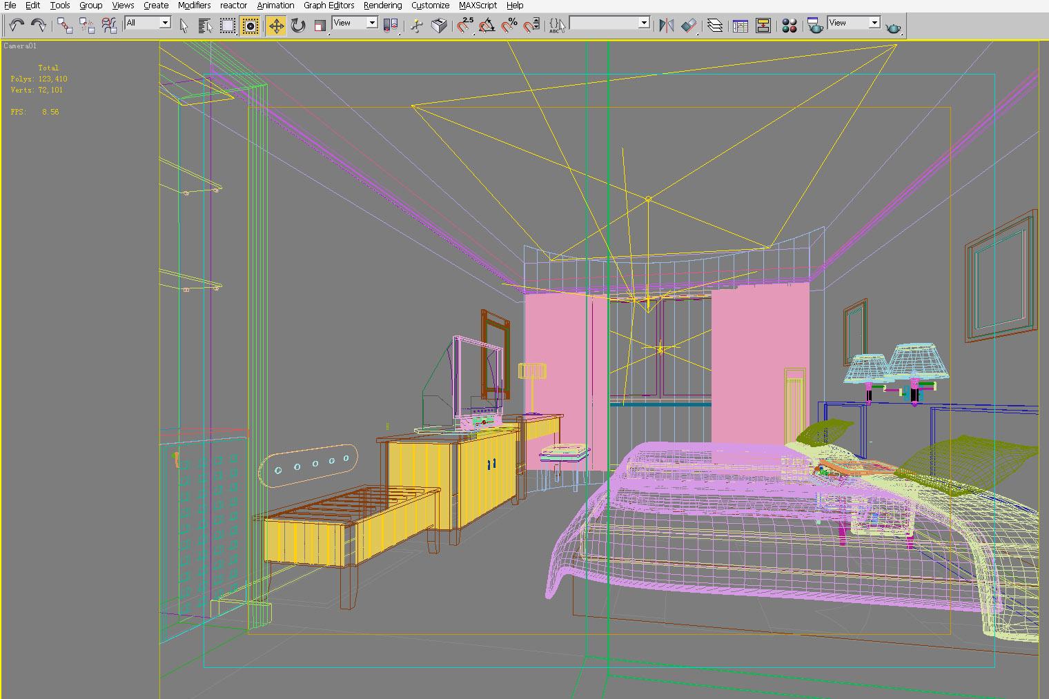 guest room 024 3d model max 140889