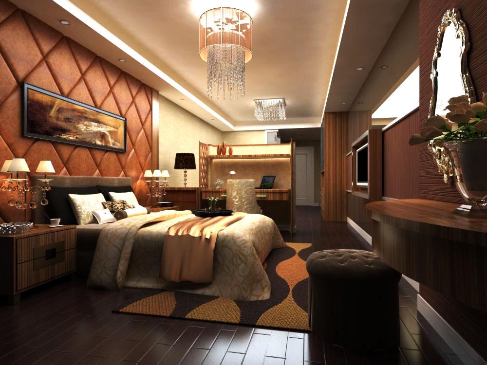 guest room 025 3d model max 136440
