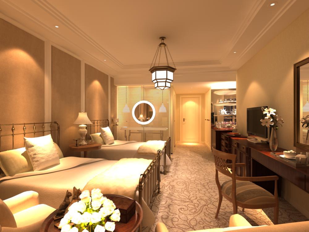 guest room 028 3d model max 136446
