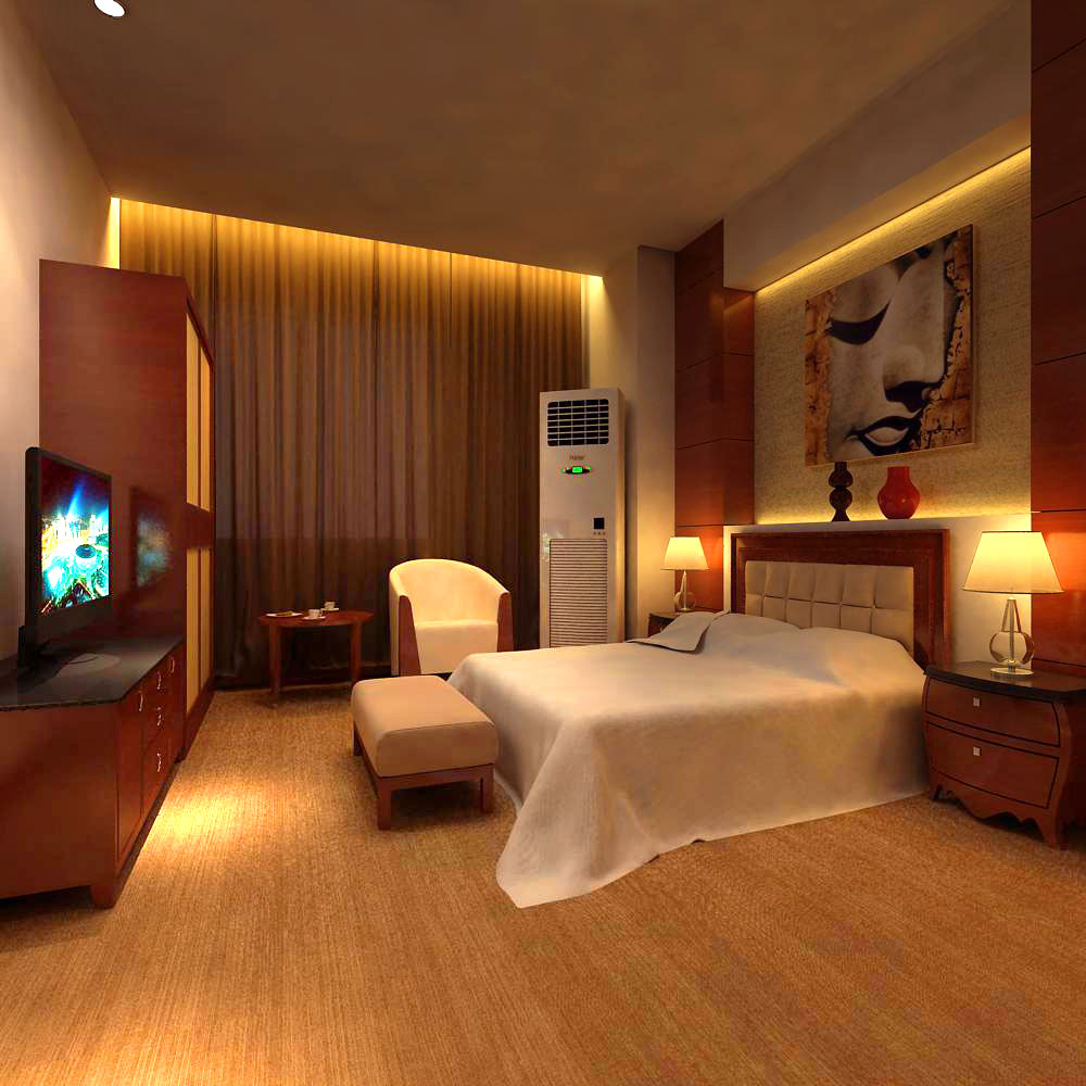 guest room 032 two 3d model max 140918