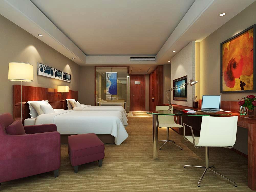 guest room 038 3d model max 140930