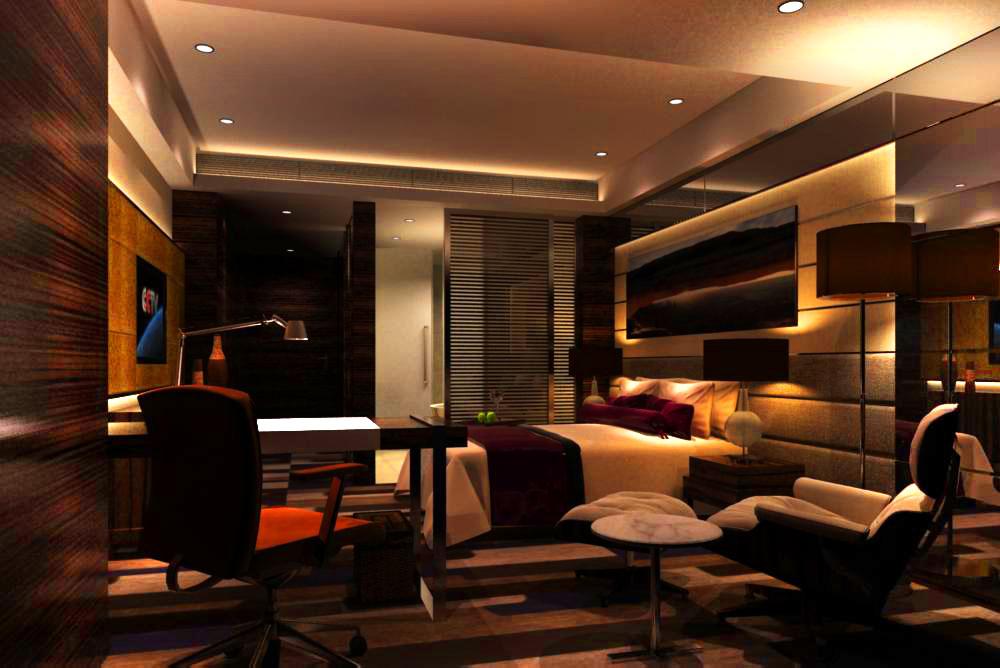 guest room 042 3d model max 125341