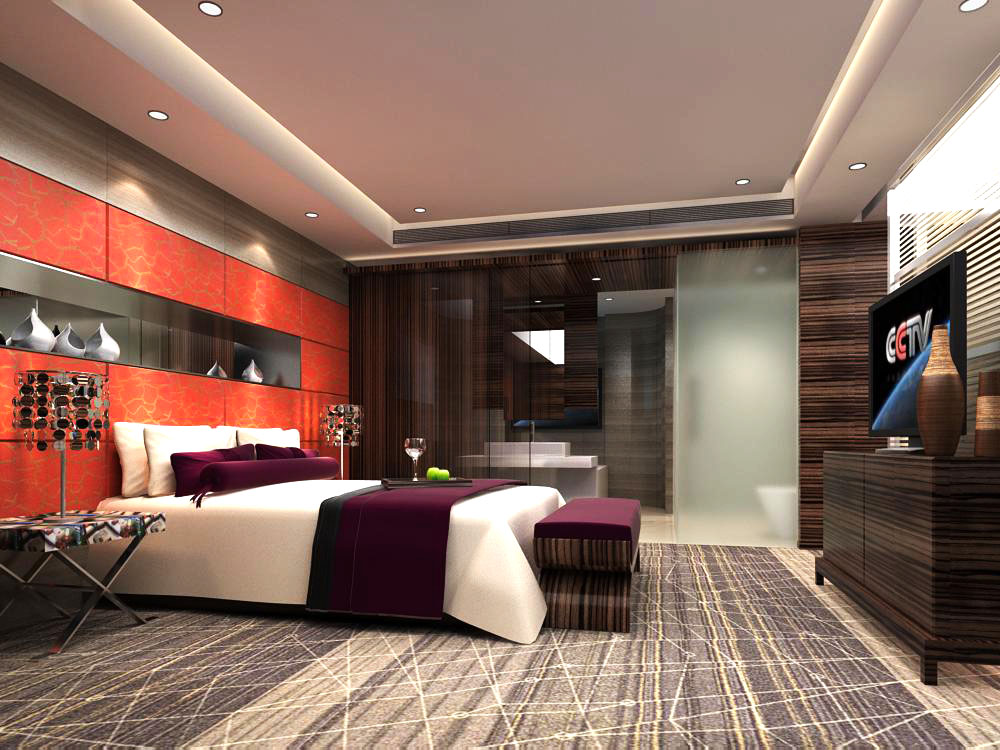 guest room 044 3d model max 125339