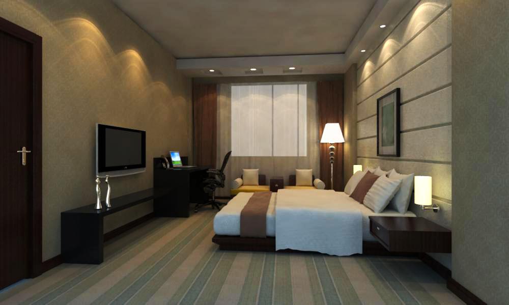 guest room 045 3d model max 136480