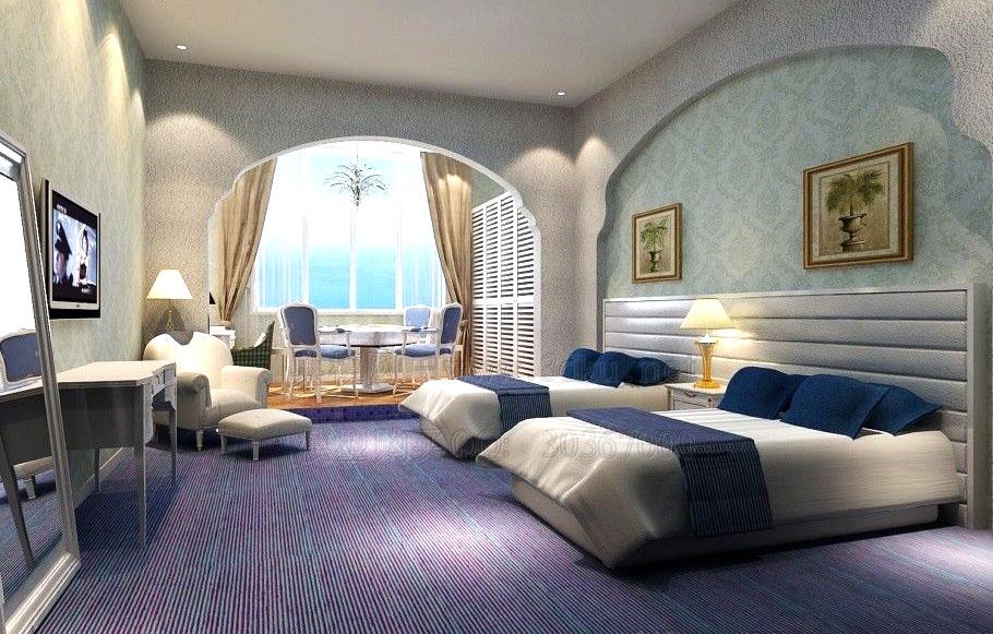 guest room 046 3d model max 136482