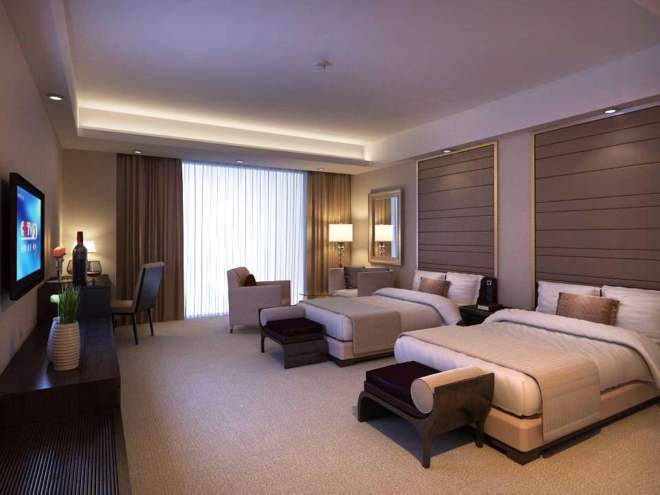 guest room 047 3d model max 136484