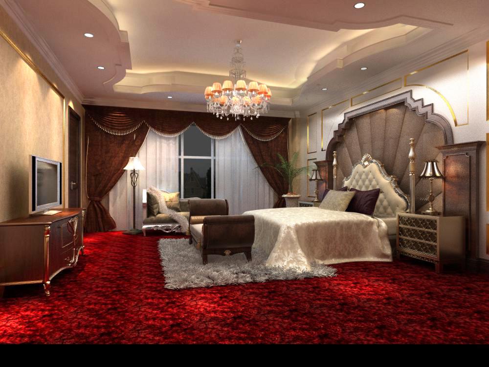 guest room 051 3d model max 125854