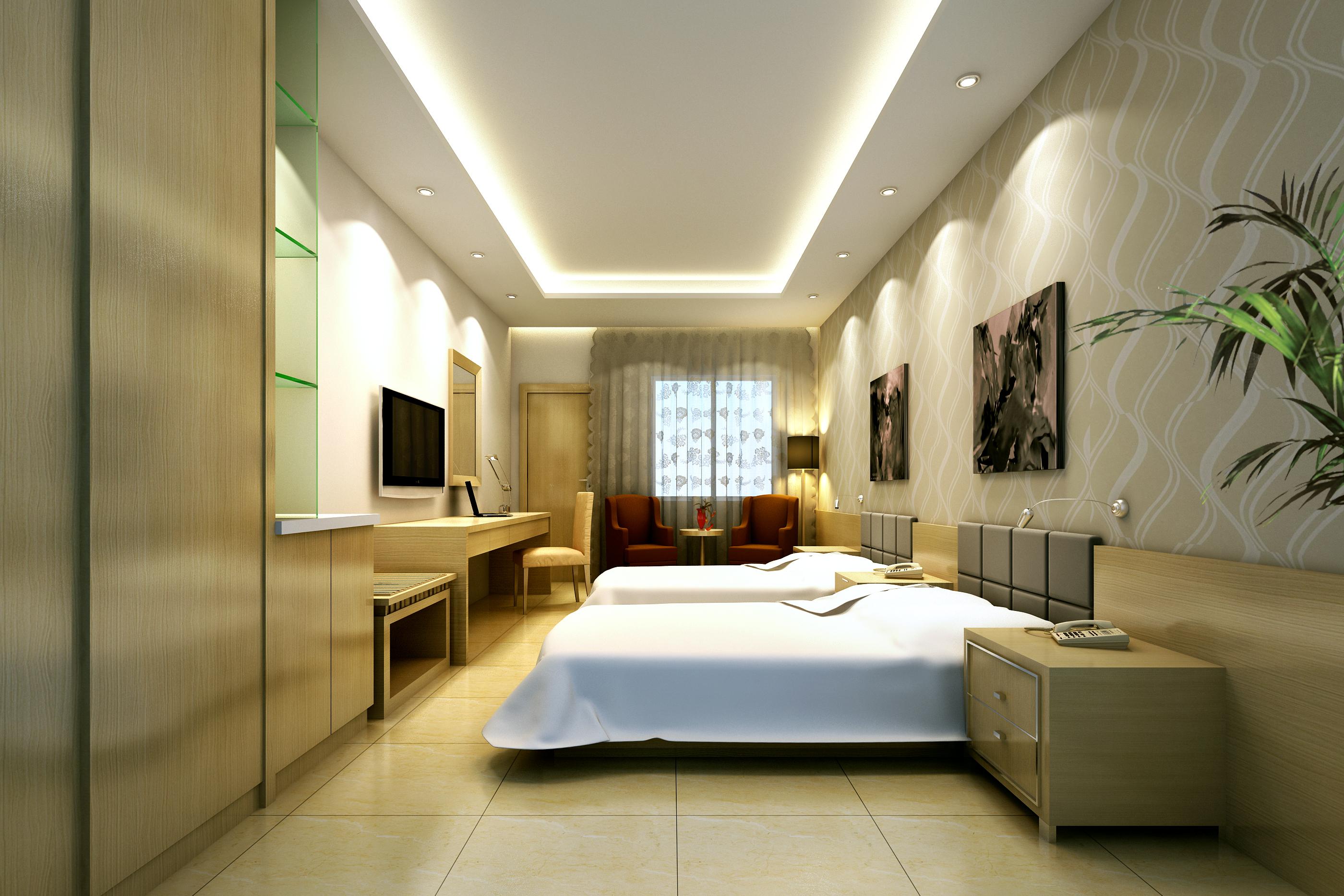 guest room 054 3d model max 136496
