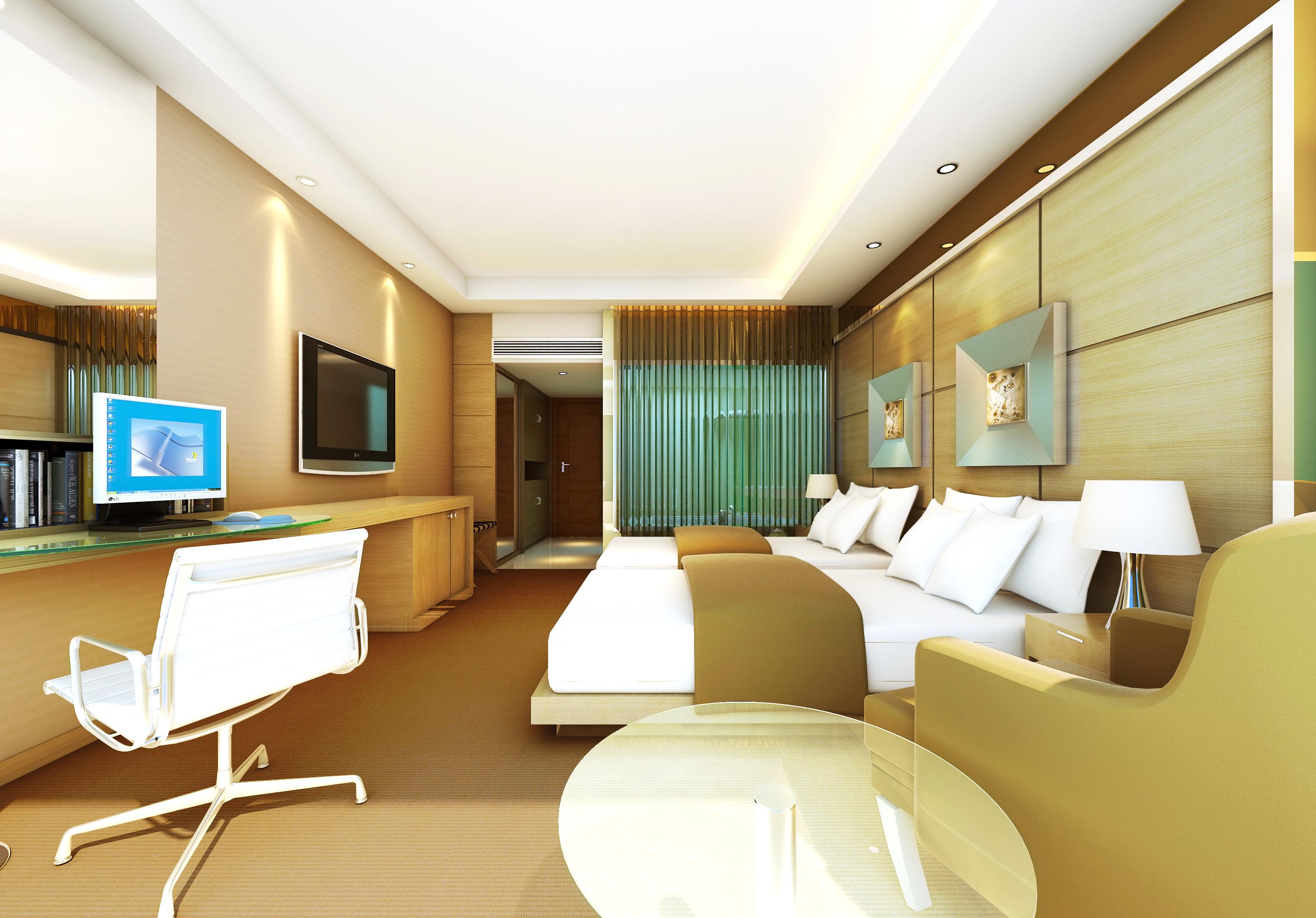 guest room 055 3d model max 136498