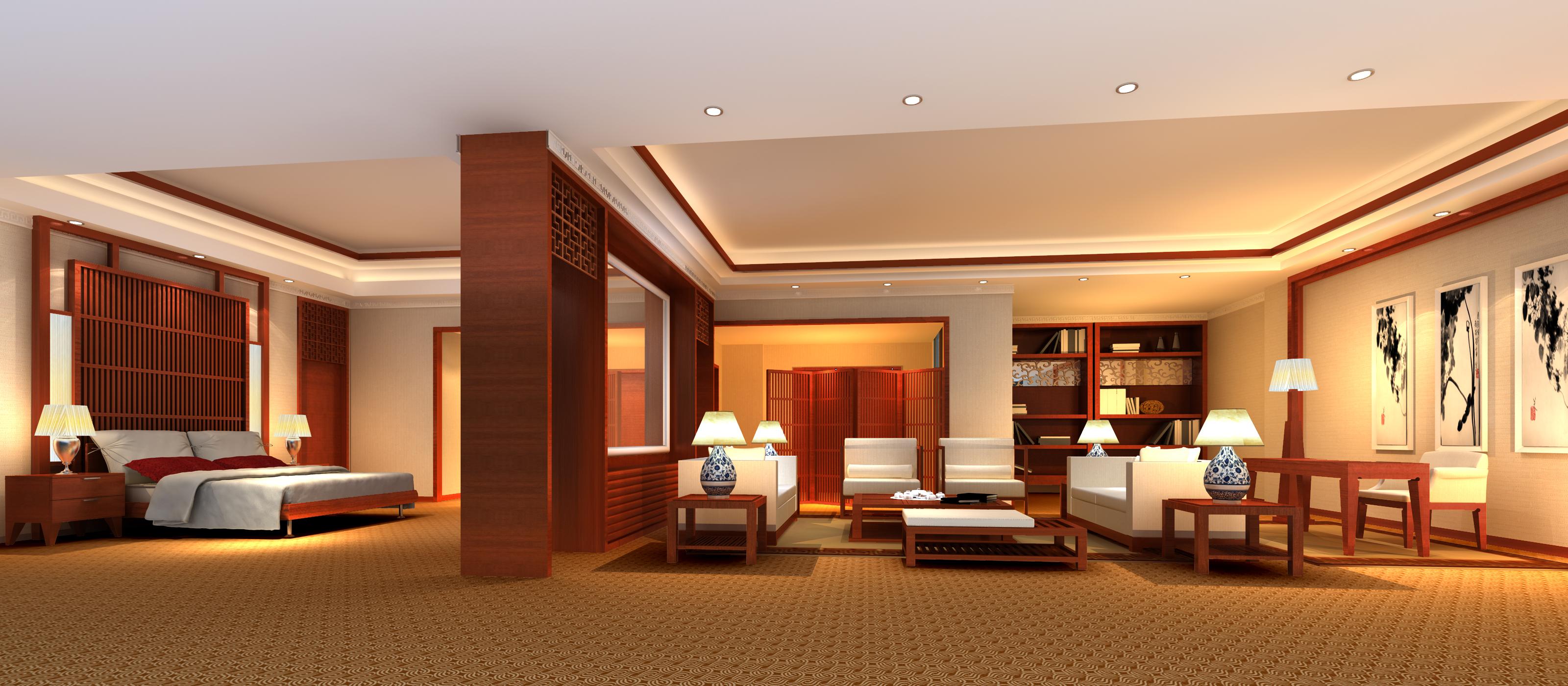 guest room 057 3d model max 136502
