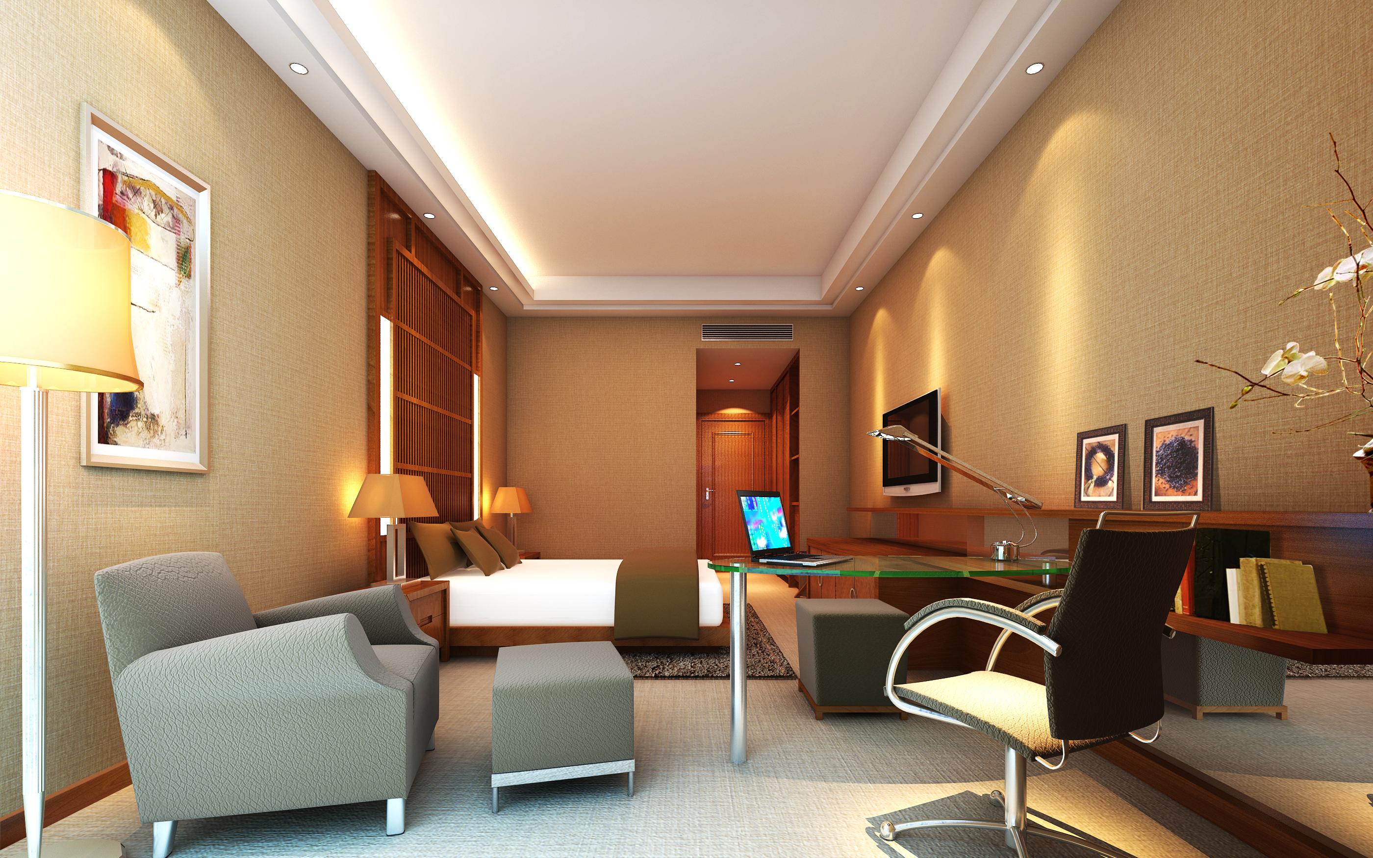 guest room 058 3d model max 136504