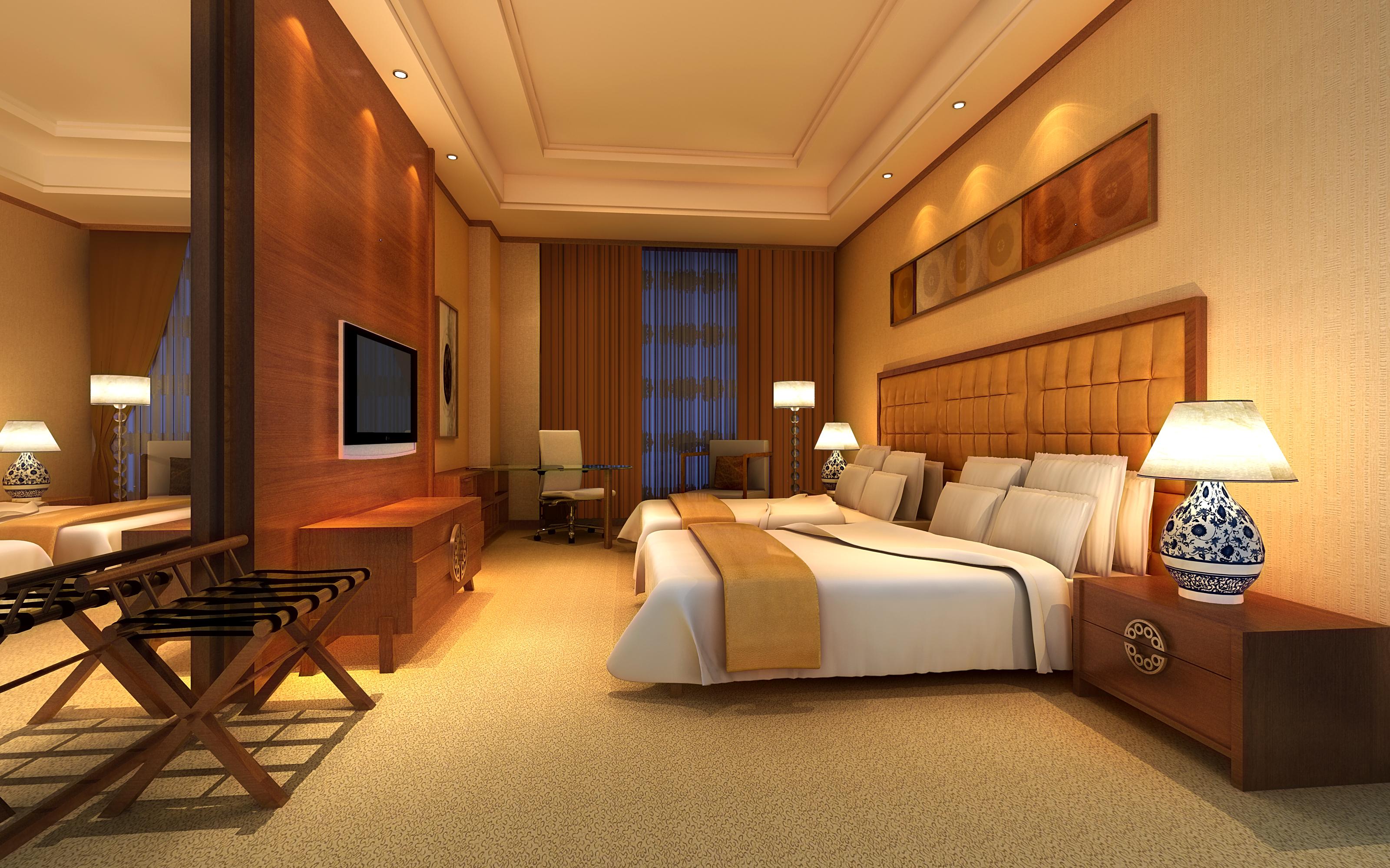guest room 059 3d model max 136506