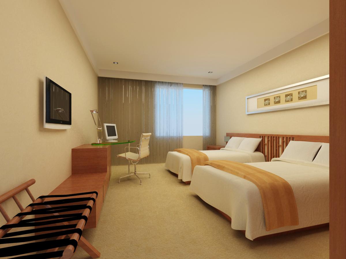 guest room 060 3d model max 136508