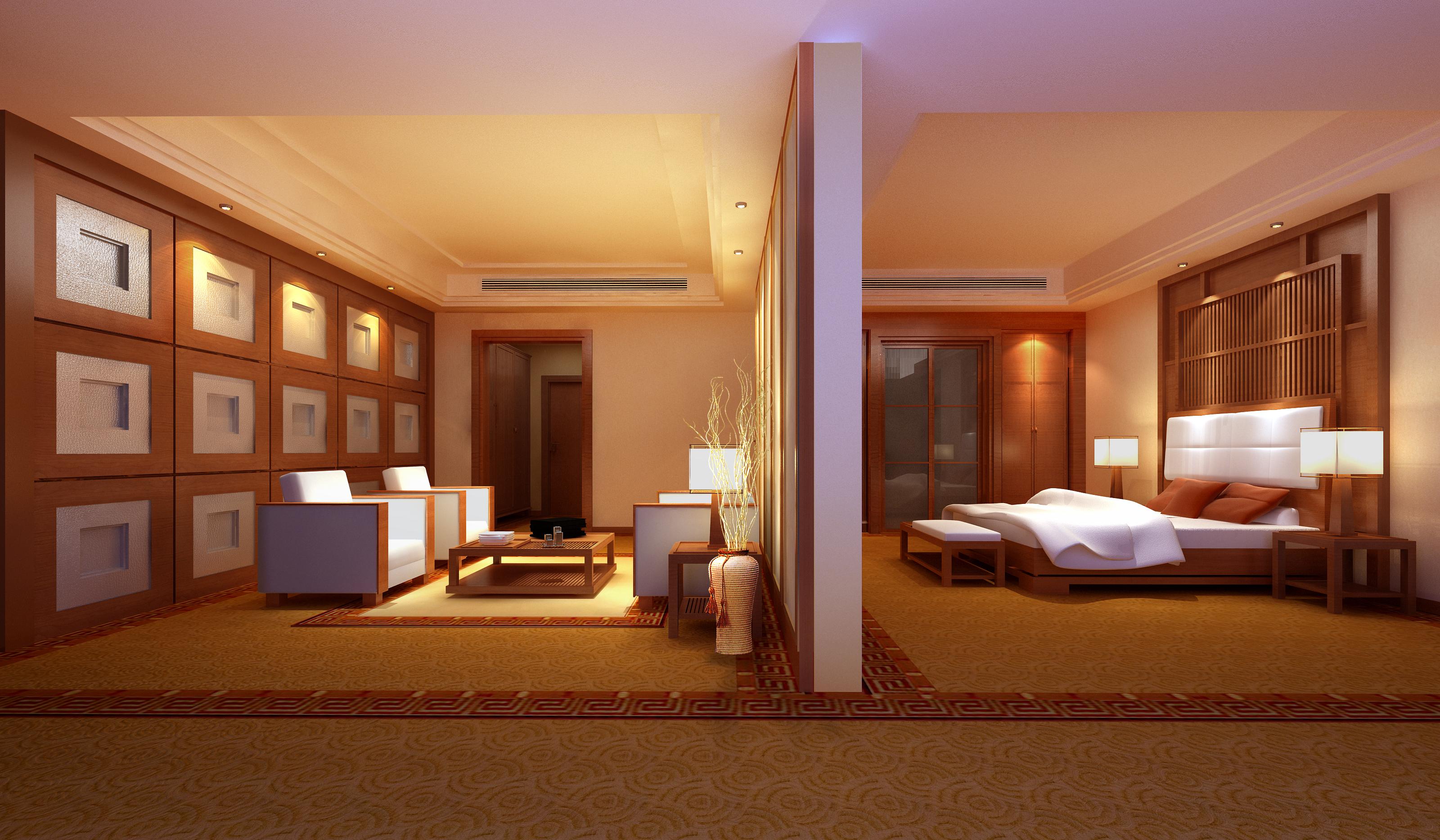guest room 061 3d model max 136510