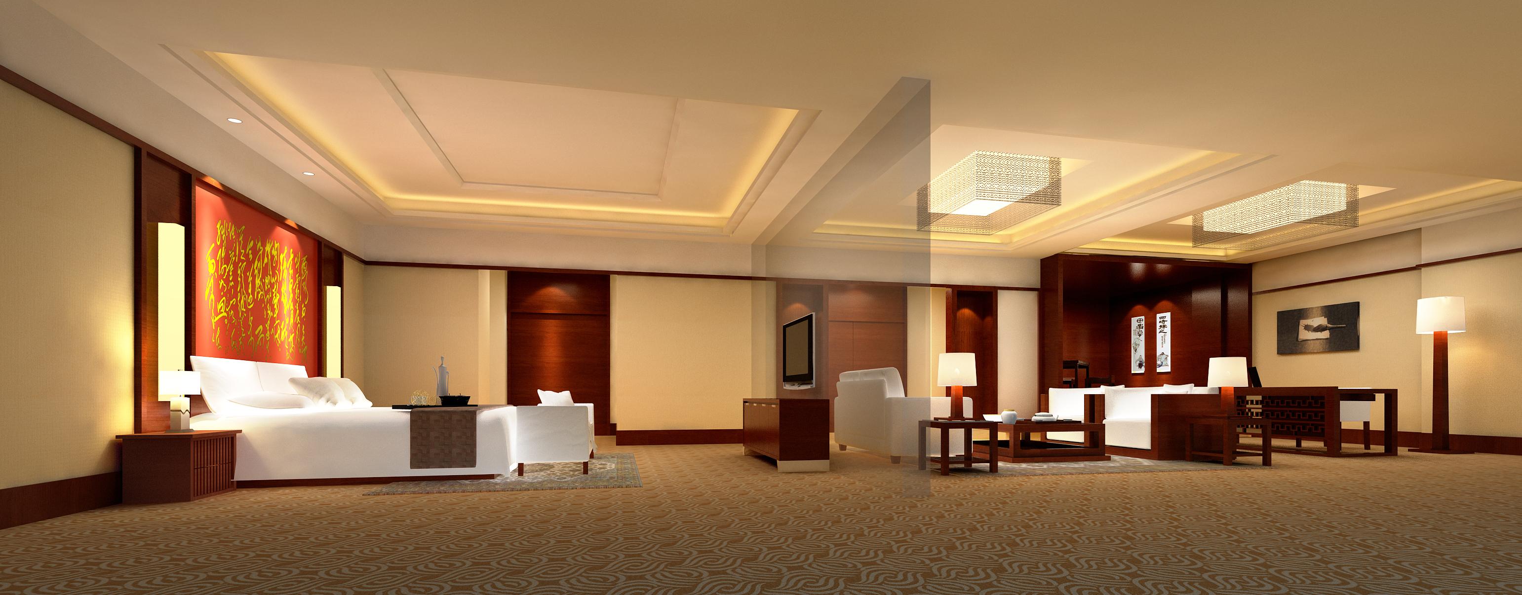 guest room 062 3d model max 136512