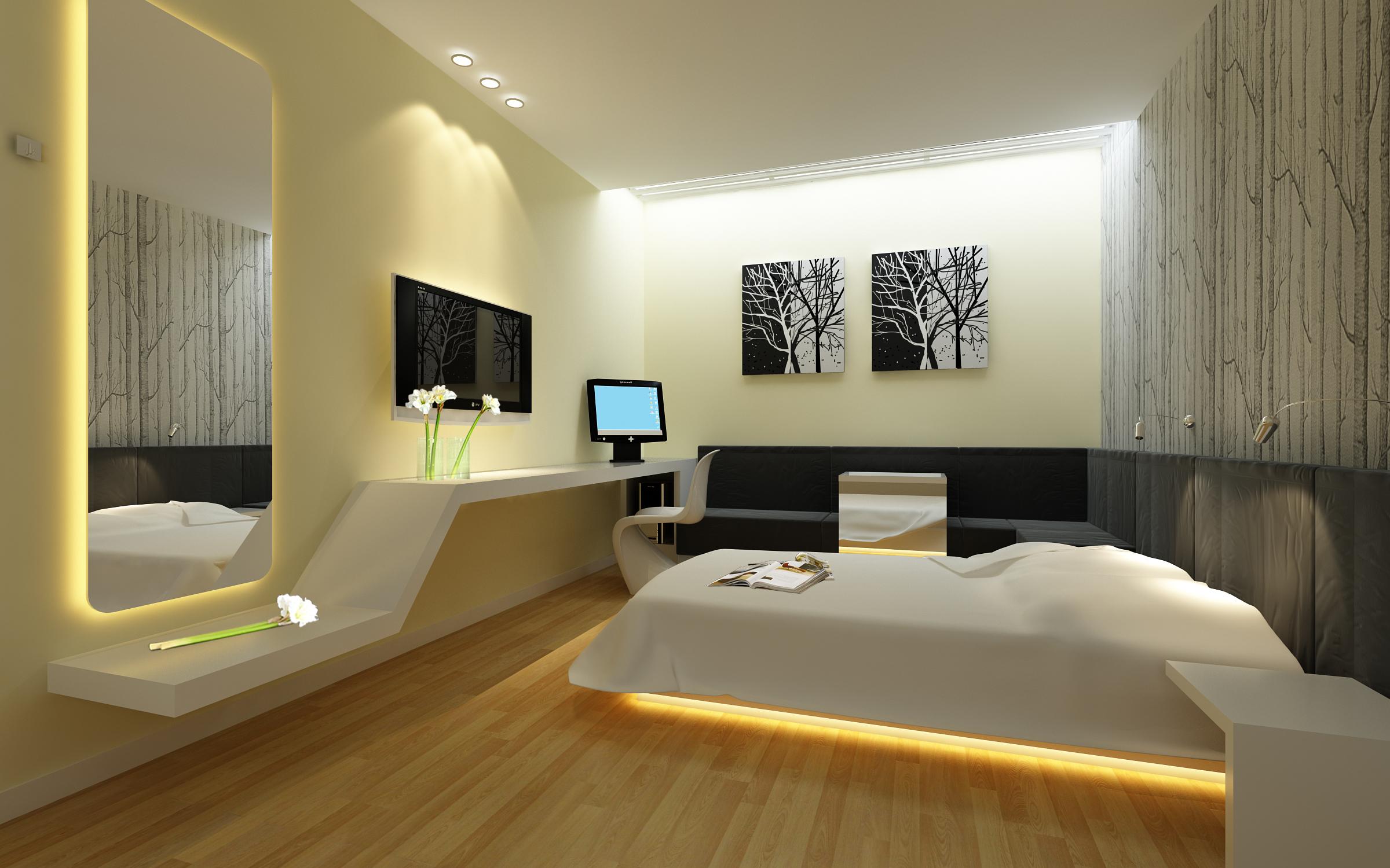 guest room 066 3d model max 136526