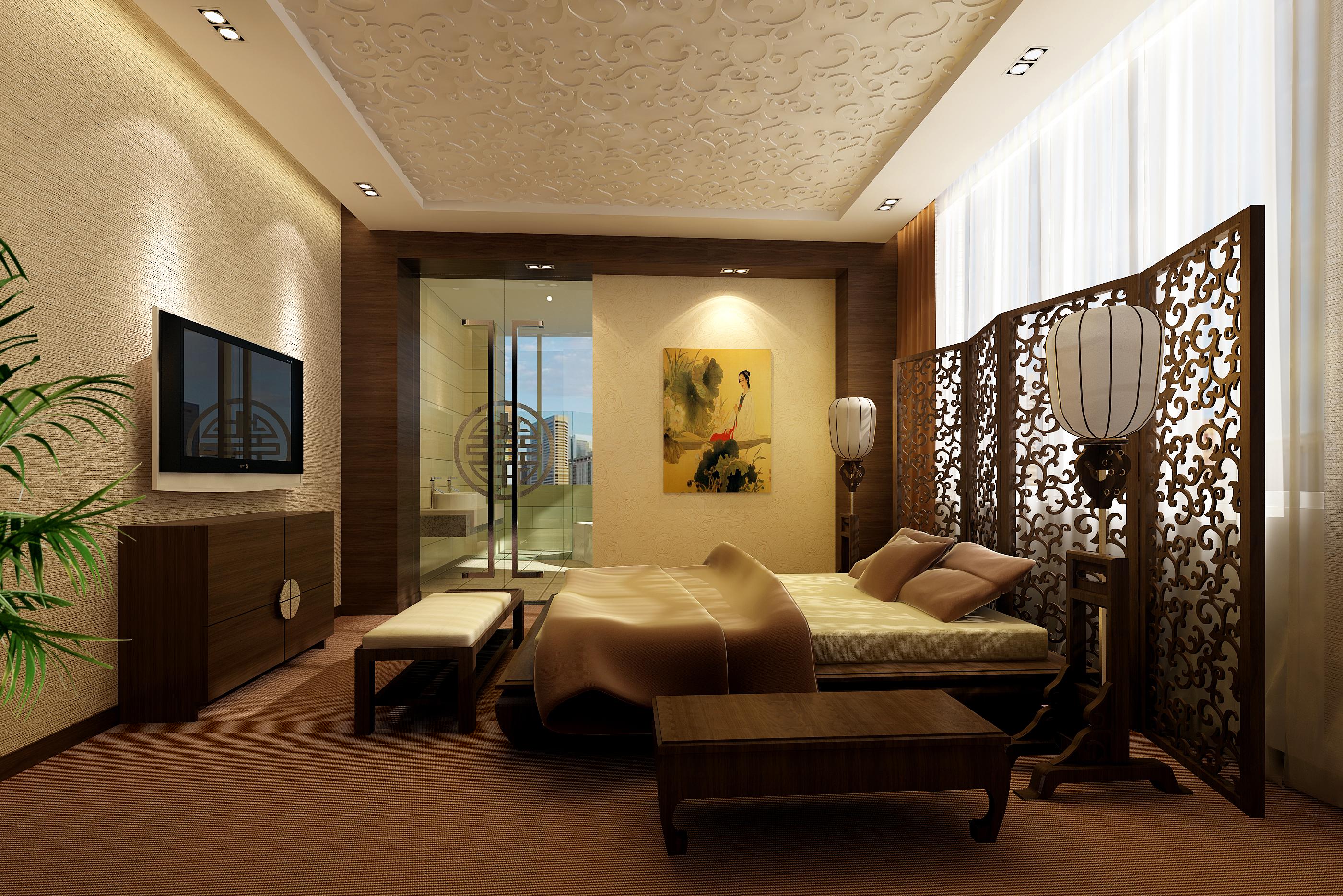 guest room 069 3d model max 136536