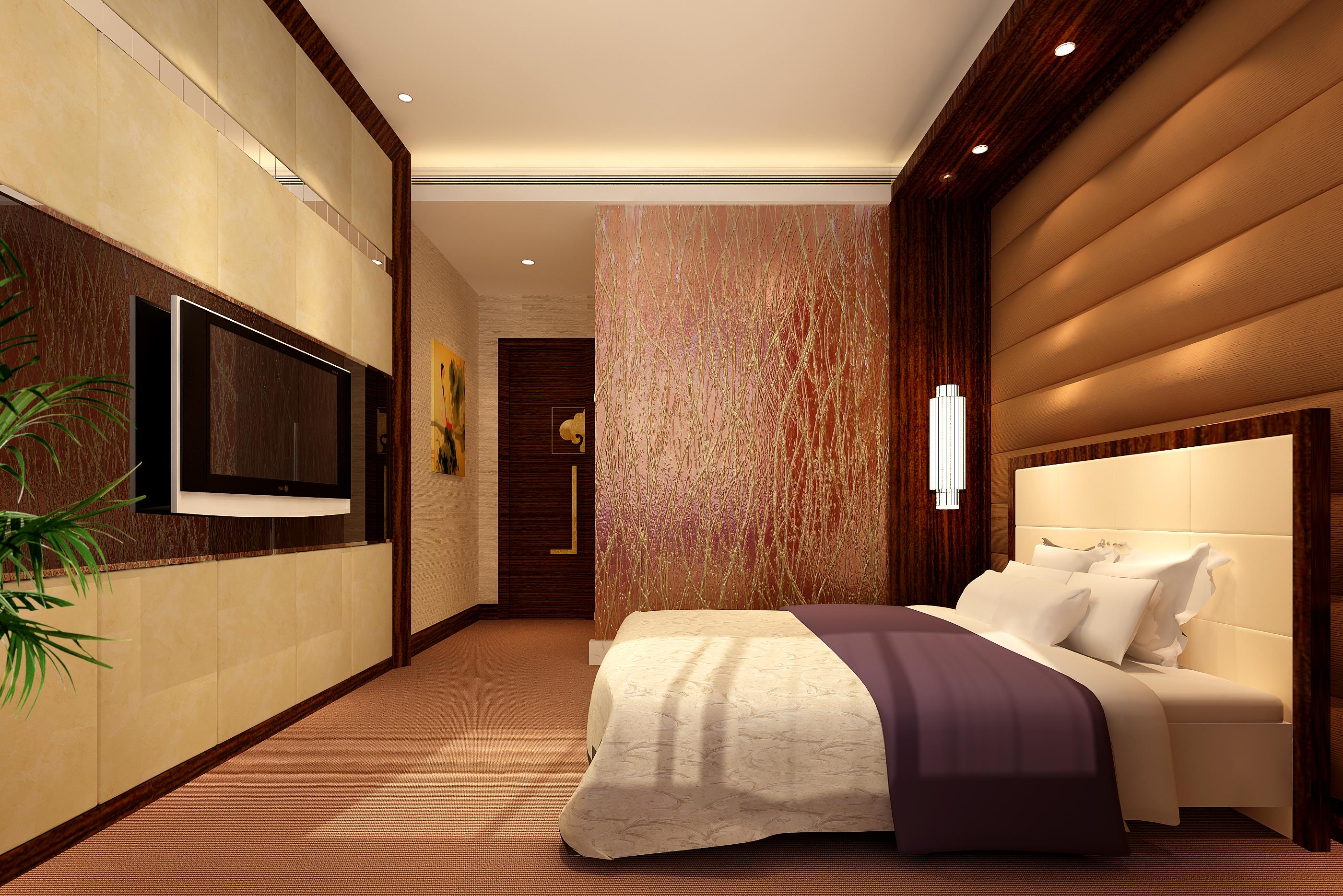 guest room 070 3d model max 136538