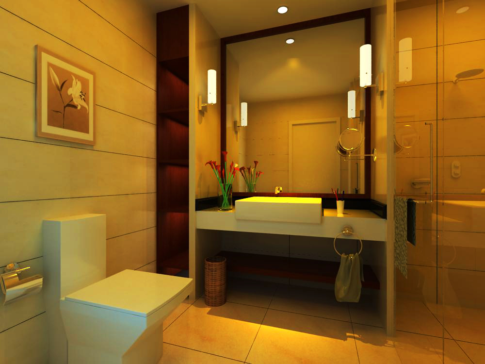 guest room bathroom 002 3d model max 140950