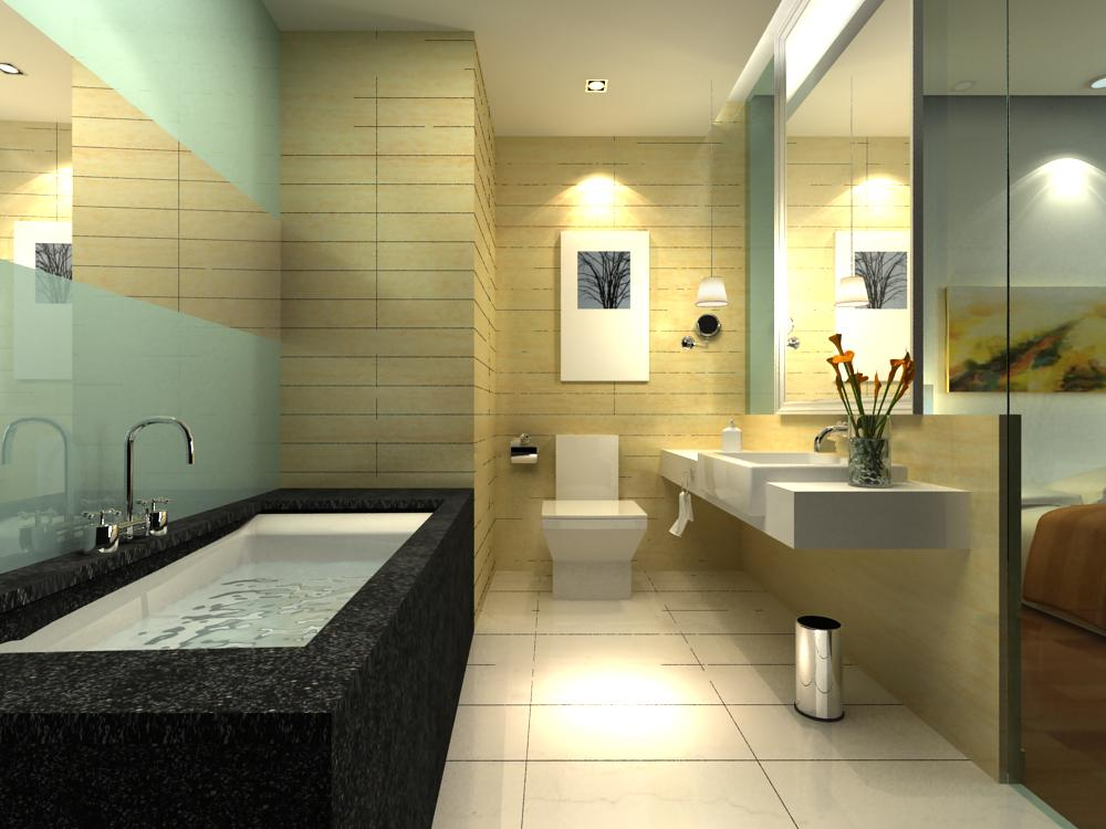 guest room bathroom 004 3d model max 140954