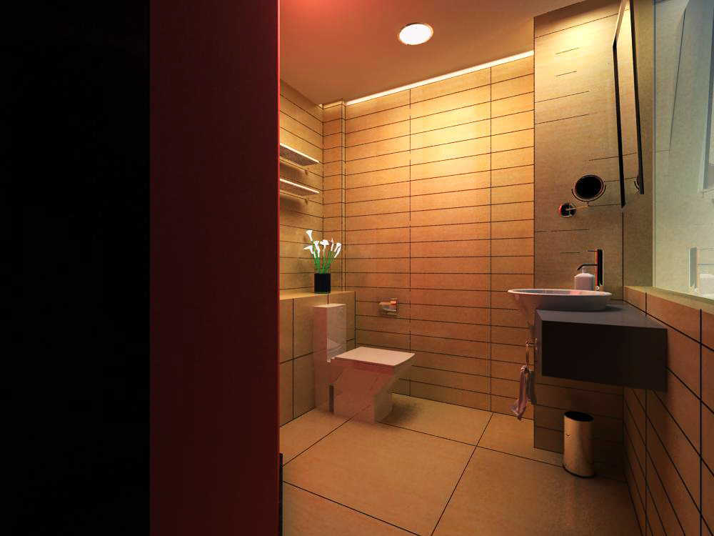 guest room bathroom 005 3d model max 140956