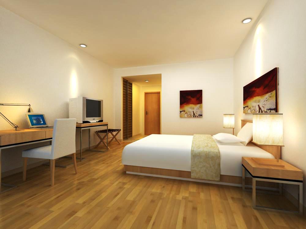 guest room design 3d model max 140379