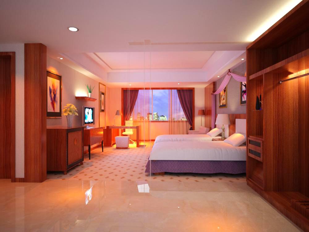 guest room five 3d model max 140349