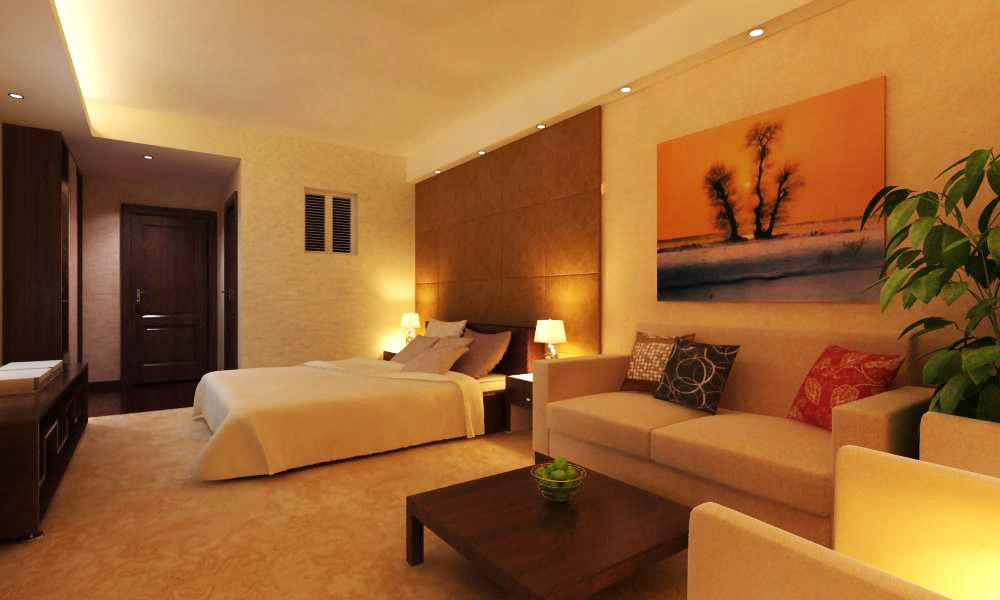 guest room seven 3d model max 140353